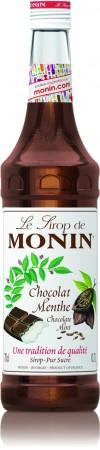 Monin ไซรัป กลิ่น Chocolate Mint Syrup (700 ml.)