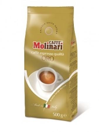เมล็ดกาแฟ Molinari โอโร่  500g.