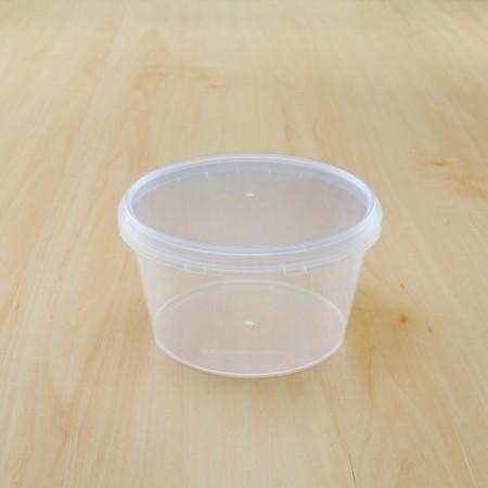 ถ้วยเซฟตี้ซีลกลม 480 ml + ฝา(25ชิ้น/แพค)