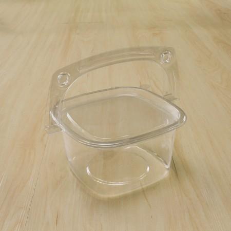 ตะกร้าพลาสติก ทรงเหลี่ยม ขนาดกลาง (PK0310-115)(50ชิ้น/แพค)