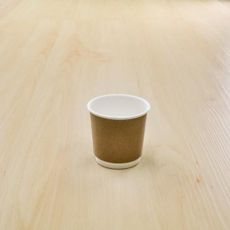 แก้วคราฟดับเบิลวอลล 4OZ. (50ชิ้น/แพค)