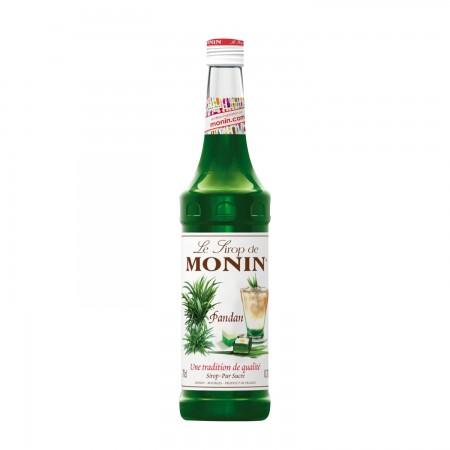Monin ไซรัป กลิ่น Pandan Syrup (700 ml.)