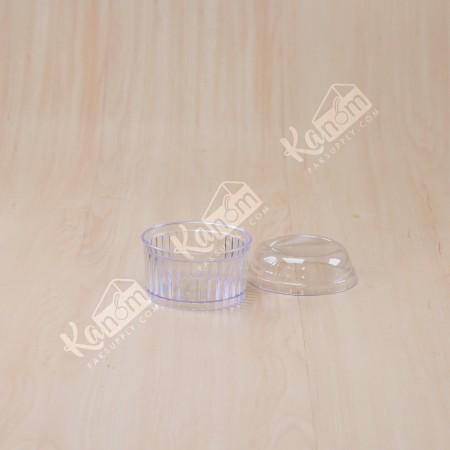 ถ้วยมูสเค้กS5 ฝาโดม (10ชิ้น/แพค)