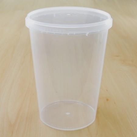ถ้วยเซฟตี้ซีลกลม 1120 ml + ฝา(25ชิ้น/แพค)
