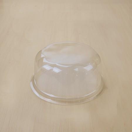 กล่องเค้กกลมฐานน้ำตาล 1 ปอนด์+ฝาลอน(10ชิ้น/แพค)
