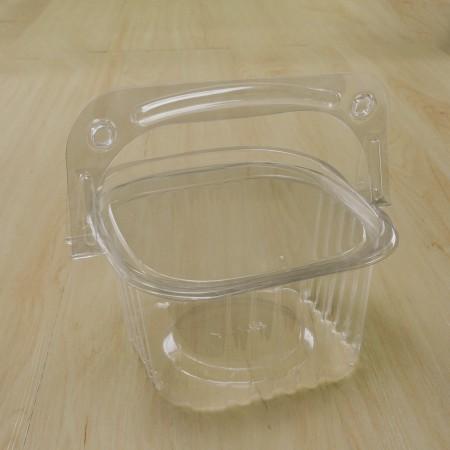 ตะกร้าพลาสติก ทรงเหลี่ยม ขนาดใหญ่ (YYE-135)(50ชิ้น/แพค)