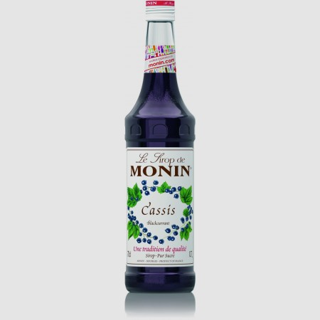 Monin ไซรัป กลิ่น Blackcurrant Syrup (700 ml.)