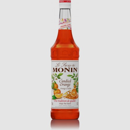 Monin ไซรัป กลิ่น Candied Orange Syrup (700 ml.)
