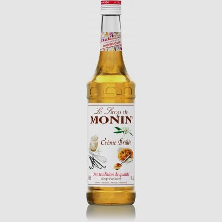 Monin ไซรัป กลิ่น Creme Brule Syrup (700 ml.)