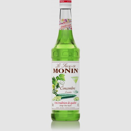 Monin ไซรัป กลิ่น Cucumber Syrup (700 ml.)