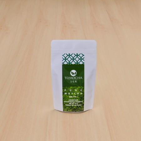 ผงชาเขียวมัทฉะบริสุทธิ์ 100%  (100g) KYOTO UJI MATCHA POWDER