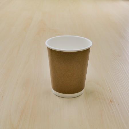 แก้วคราฟดับเบิลวอลล 8OZ. (25ชิ้น/แพค)