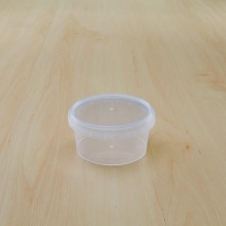 ถ้วยเซฟตี้ซีลกลม 160 ml + ฝา(25ชิ้น/แพค)