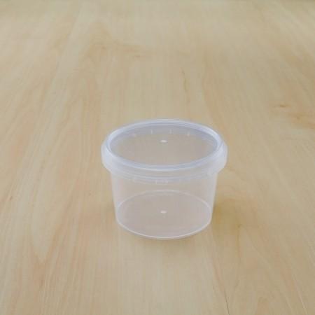 ถ้วยเซฟตี้ซีลกลม 210 ml + ฝา(25ชิ้น/แพค)
