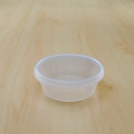 ถ้วยเซฟตี้ซีลกลม 300 ml + ฝา(25ชิ้น/แพค)