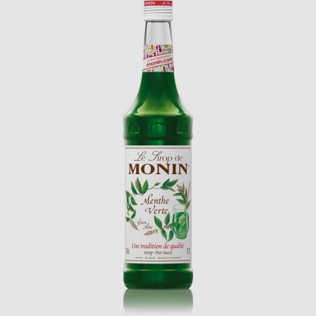 Monin ไซรัป กลิ่น Green Mint Syrup (700 ml.)