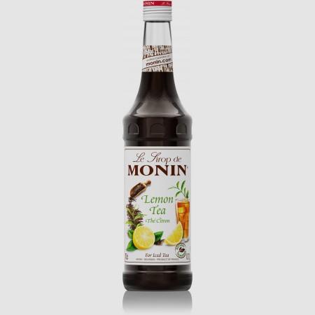 Monin ไซรัป กลิ่น Lemon Tea Syrup (700 ml.)