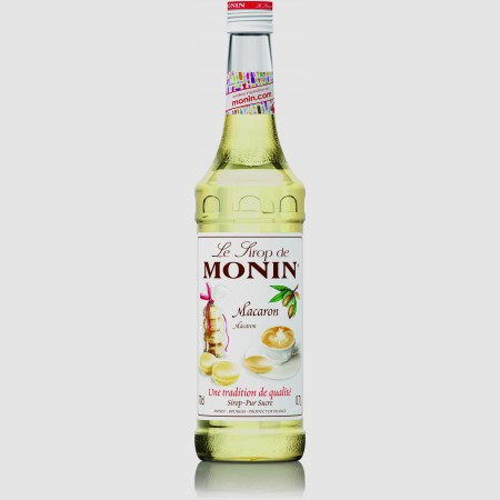 Monin ไซรัป กลิ่น Macaron Syrup (700 ml.)