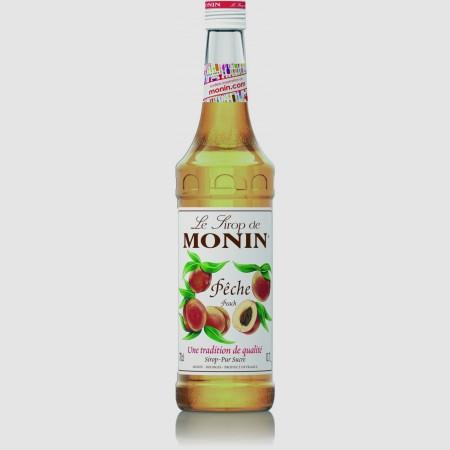 Monin ไซรัป  กลิ่น Peach Syrup (700 ml.)
