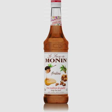 Monin ไซรัป  กลิ่น Praline Syrup (700 ml.)