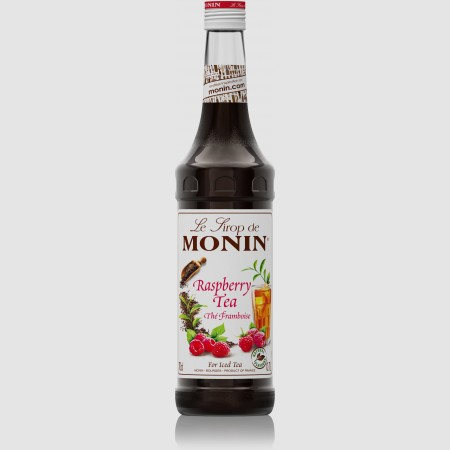 Monin ไซรัป  กลิ่น Raspberry Tea Syrup (700 ml.)
