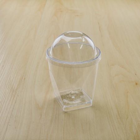 ถ้วยมูสเค้ก S9 ฝาโดม 8oz(25ชิ้น/แพค)