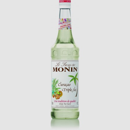 Monin ไซรัป กลิ่น Triple Sec Curaca Syrup (700 ml.)