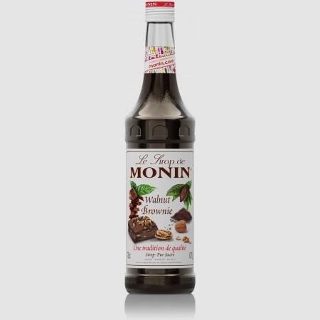 Monin ไซรัป กลิ่น Walnut Brownie Syrup (700 ml.)