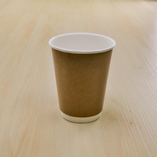 แก้วคราฟดับเบิลวอลล 12OZ (25ชิ้น/แพค)