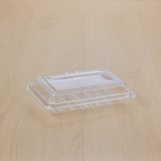 กล่องเบเกอรี่ใส TP-4HA (ฝาล็อค) (100ชิ้น/แพค)