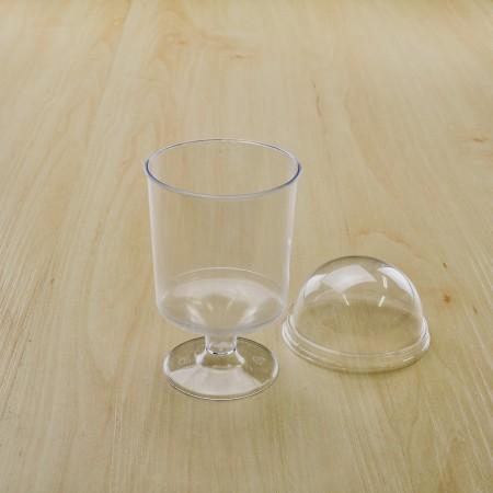ถ้วยมูสเค้ก 333 ฝาโดม 5.5oz. (10ชิ้น/แพค)