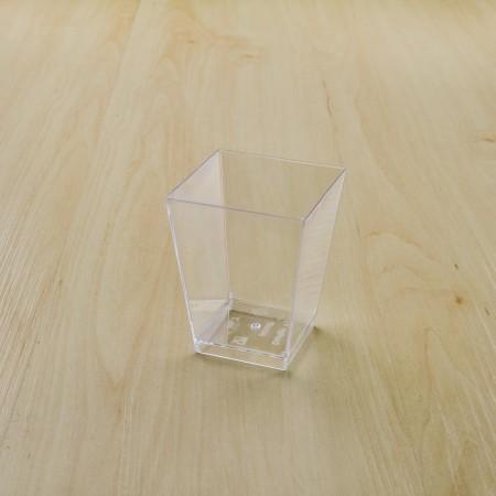 ถ้วยมูสเค้ก 424 ฝาโดม 100ml(20ชิ้น/แพค)