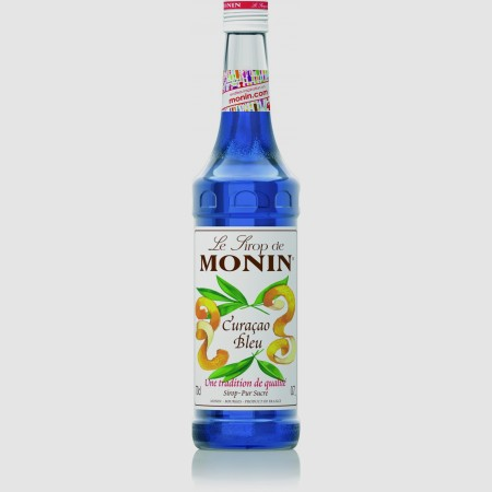 Monin ไซรัป กลิ่น Blue curacao Syrup (700 ml.)