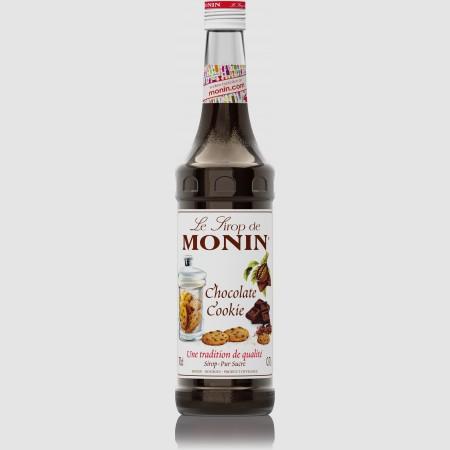 Monin ไซรัป กลิ่น Chocolate Cookie Syrup (700 ml.)