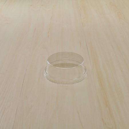 ฝาโดมตัดครึ่งปิดแก้ว PET #95 (50ชิ้น/แพค)