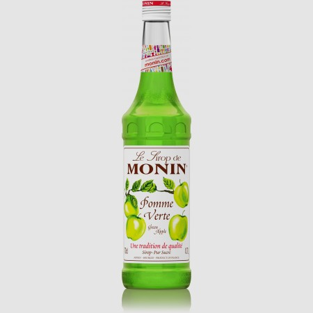 Monin ไซรัป   กลิ่น Green Apple Syrup (700 ml.)