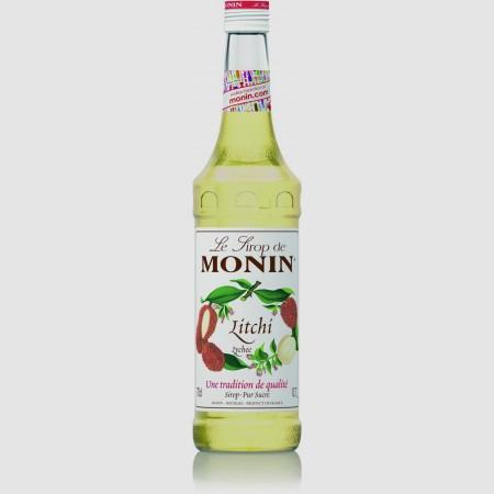 Monin ไซรัป กลิ่น Lychee Syrup (700 ml.)