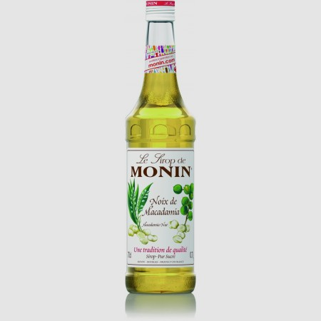 Monin ไซรัป กลิ่น Macadamia Nut Syrup (700 ml.)