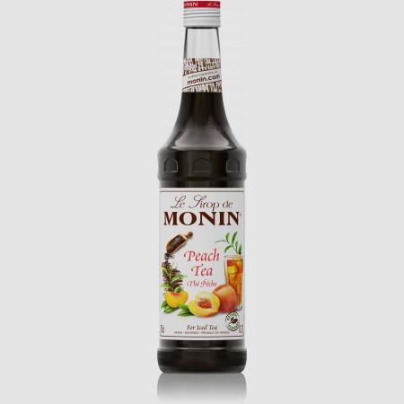 Monin ไซรัป  กลิ่น Peach Tea Syrup (700 ml.)