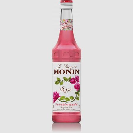 Monin ไซรัป กลิ่น Rose Syrup (700 ml.)
