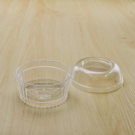 ถ้วยมูสเค้ก S1 ฝาโดม (25ชิ้น/แพค)