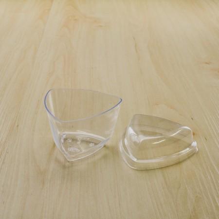 ถ้วยมูสเค้ก S2 ฝาโดม (25ชิ้น/แพค)