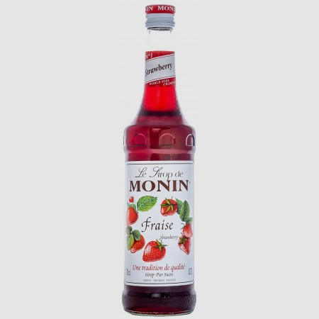 Monin ไซรัป กลิ่น Strawberry  Syrup (700 ml.)