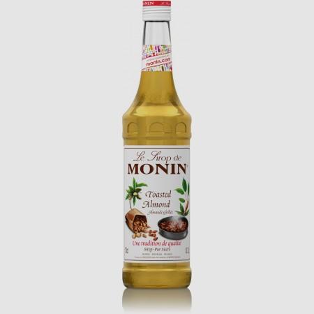 Monin ไซรัป กลิ่น Toasted Almond Syrup (700 ml.)