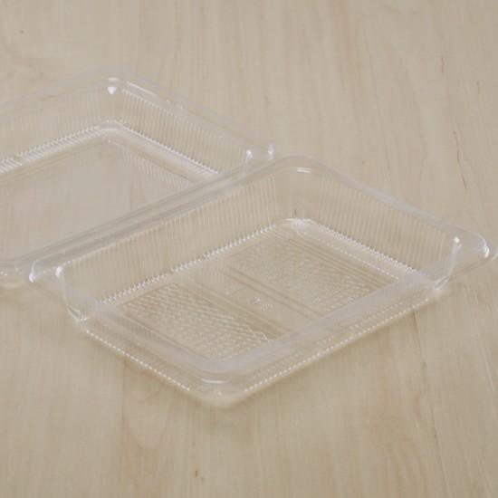 กล่องเบเกอรี่ใส Tray M6 (100ชิ้น/ห่อ)